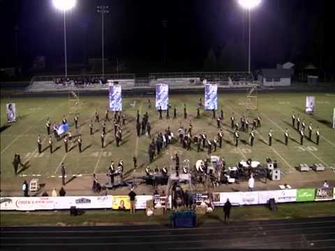 "East Davidson High School Marching Band 2015  ""Carry On"""