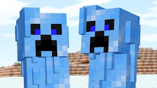 Minecraft Mobs if they lived in the Arctic