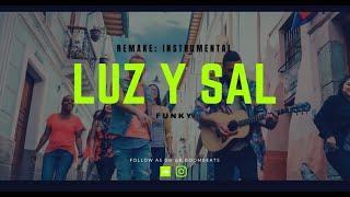 Funky - Luz Y Sal ft. Edward Sanchez (KARAOKE BUEN AUDIO - PISTA INSTRUMENTAL) By LisanBeat