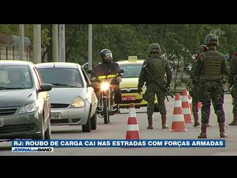 RJ: Roubo De Carga Cai Nas Estradas Com Das Forças Armadas