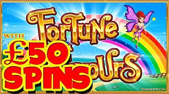 ** Fortune Favours ** with £50 SPINS!!