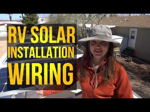 RV Solar Installation, Wiring part 2