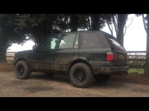 Range Rover p38 ride heights