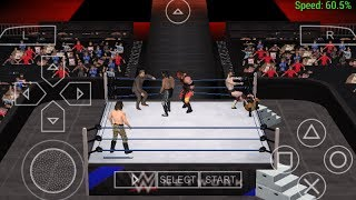 How to Fix Crash on WWE 2K17 PSP ( 6 man and royal Rumble Works )