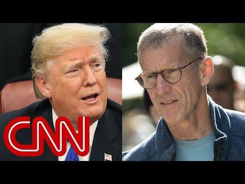 Trump fires back at retired General Stanley McChrystal