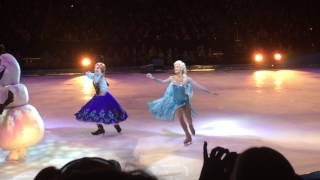 Disney's Frozen On Ice - Anna & Elsa - Closing Ceremony