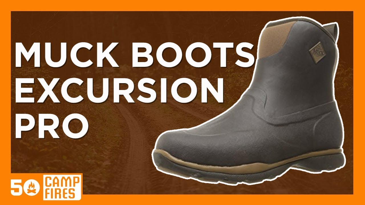 Camping Gear: Muck Boots Excursion Pro Line - 50campfires - YouTube
