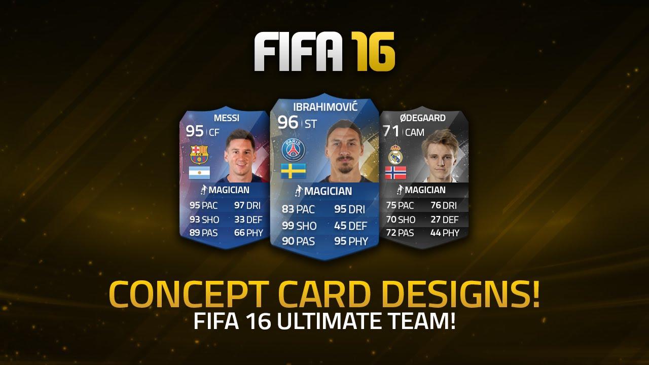 Pele Fifa 16 Card