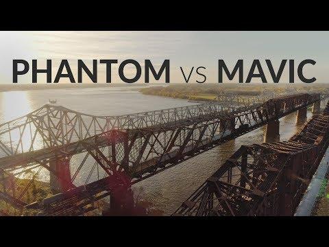 PHANTOM 4 Pro BEST Settings Vs MAVIC + V2.0 Thoughts
