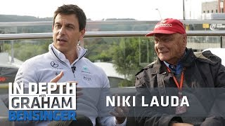 Niki Lauda and Toto Wolff: We have a fighting culture