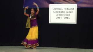 Nannare Dance Performance by Sahana