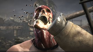 Mortal Kombat XL: Johnny Cage's X-ray on All Kharacters
