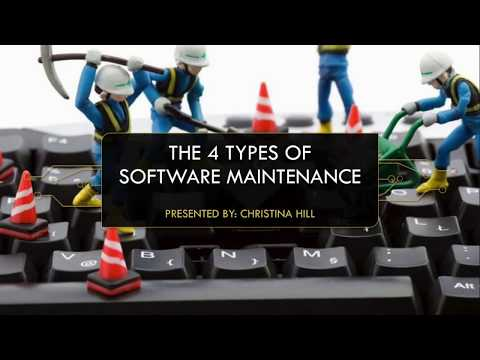 The 4 Types Of Software Maintenance