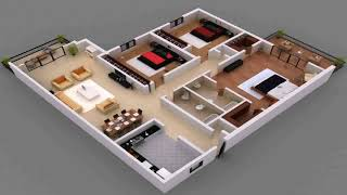 Simple 4 Bedroom House Plans Pdf