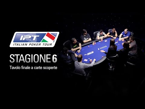 2014 IPT 6 Nova Gorica – Main Event, tavolo finale – PokerStars.it