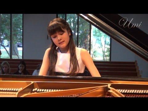 "Umi Garrett, 12yr. - Beethoven Sonata ""Tempest"" Mvmt.1"