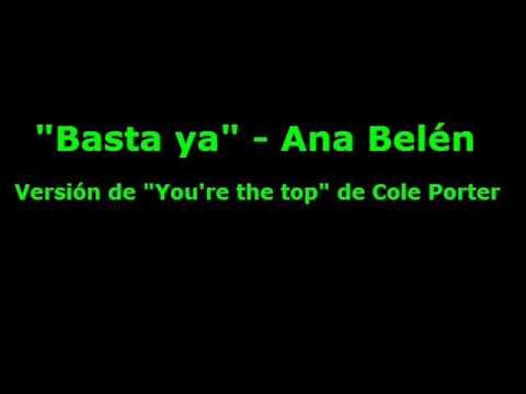 Ana Belen - Basta ya