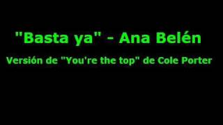 Watch Ana Belen Basta Ya video