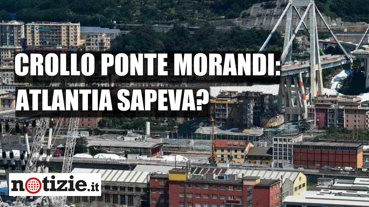 "Crollo del Ponte Morandi, Financial Times: ""Atlantia sapeva"" | Notizie.it"
