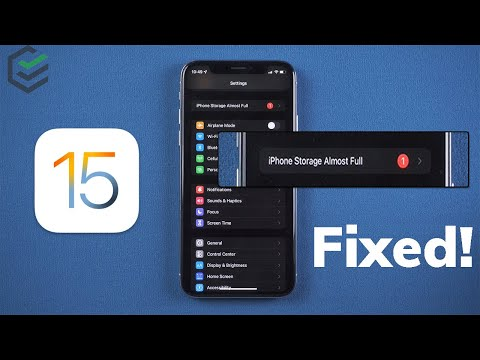 IOS 15 IPhone Storage Almost Full? How To Fix??? 4 Free Tricks For You Here✔