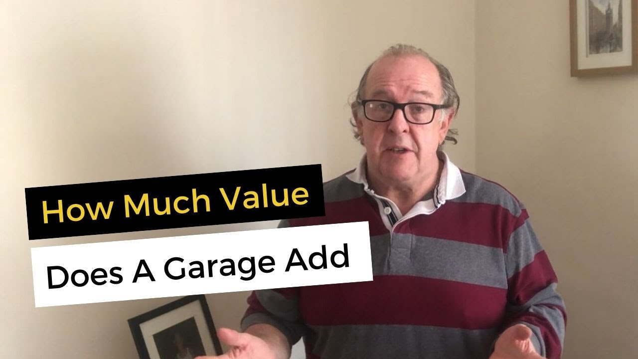 How much value does a garage add UK