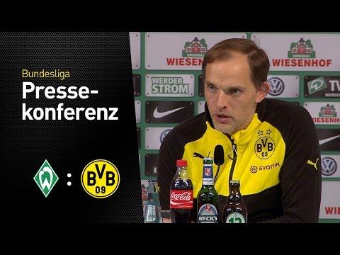 Pressekonferenz: Thomas Tuchel nach dem Sieg in Bremen | Werder Bremen - BVB 1:2