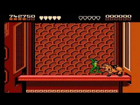 Battletoads Rat Race And Rat Race Shortcut Youtube