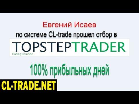 Интервью у Евгения ученика CL trade Прошел в TopstepTrader