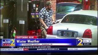 Snow in Atlanta WSBTV Channel 2 Action News Jan 16, 2018