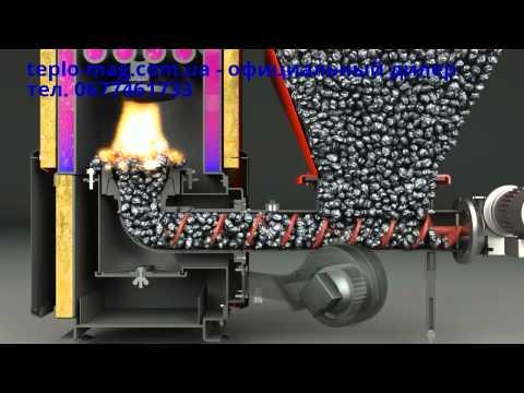 Твердотопливный котел длительного горения Defro Duo с автоматической подачей