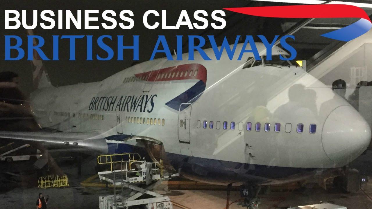 british airways business class club world 747400 san