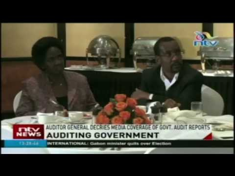 Auditor general decries media coverage of government audit reports