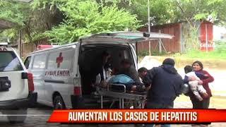 AUMENTAN LOS CASOS DE HEPATITIS