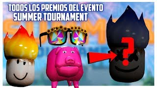 ALL Roblox Summer Tournament Event Awards at Renders Guapetones summer event