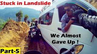 DEADLIEST Road to MUSTANG(NEPAL) | Day 5- Life & Death Situation | Pokhara to Ghasa | Bike Crash