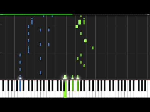 We Are  One Piece Opening 1 Piano Tutorial Synthesia