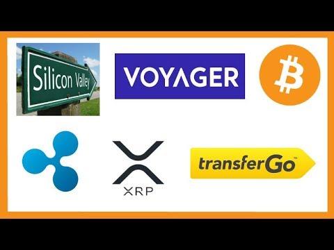 Silicon Valley Exodus to Crypto/Blockchain – China BTC – Voyager Free $25 BTC – TransferGo xRapid
