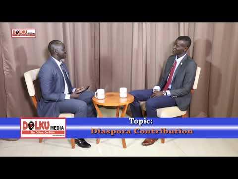 Akol Nyok Akol on South Sudan Diaspora Contribution