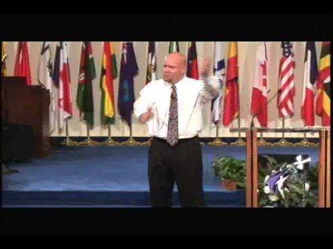 Pastor R. Vincent Dehm II--Walking on Broken Glass