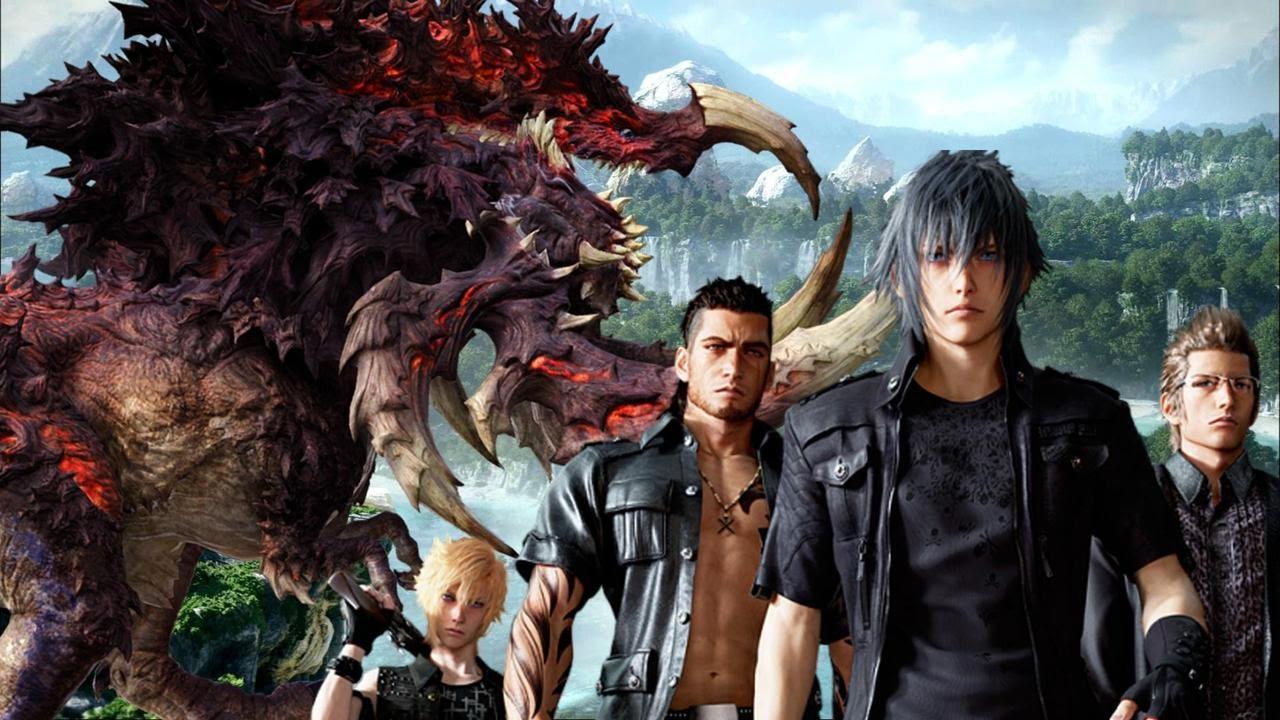 Final Fantasy XV Fighting A Bandersnatch YouTube