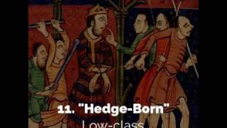 15 Hilarious Medieval Insults