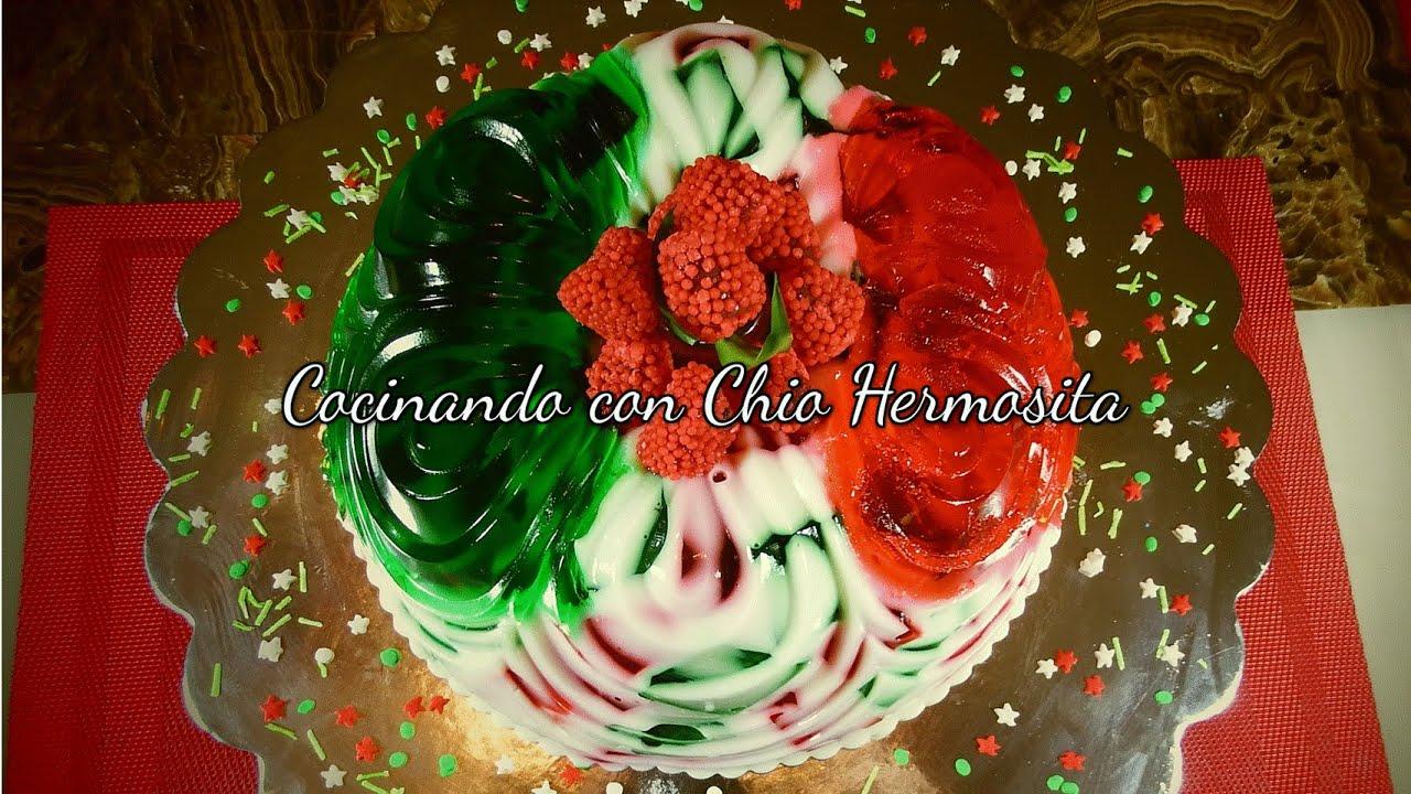 Gelatina de mosaico con colores verde y rojo cinco de mayo youtube - Mosaico de colores ...