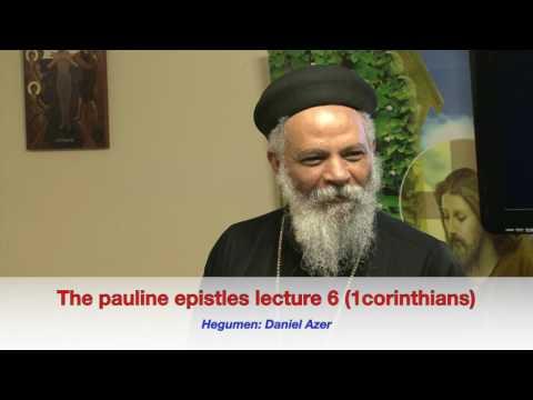 The pauline epistles lecture 6 1corinthians