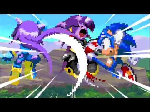 Lilac Vs Amethia (ft Sonic) (RE-UPLOAD) (Read Before Comment!)