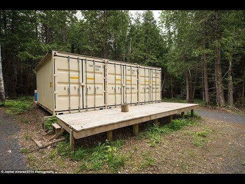 Self Sustaining Homes the house that really is ship-shape! canadian man builds self