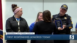 Local first responders honored with 'Excellence in EMS' award