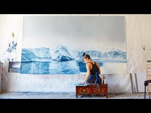 Drawings that show the beauty and fragility of Earth | Zaria Forman