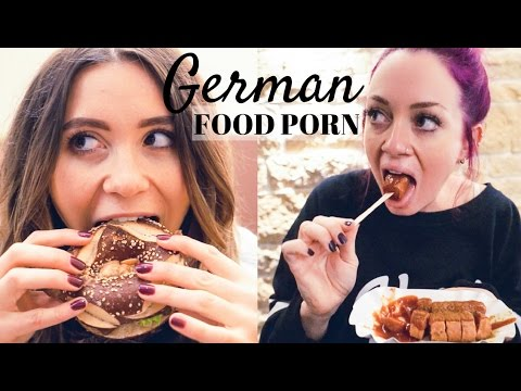 GERMAN FOOD PORN: Best Vegan Food w/ Nadine Sykora
