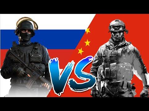 Россия VS Китай  Сравнение Армии и вооруженных сил стран 2020