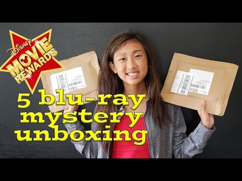 DMR Disney Movie Rewards redemption Blu-ray/DVD Unboxing 5 Mystery movies! What did we get?